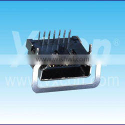 Dongguan Yxcon 19F straight HDMI connector