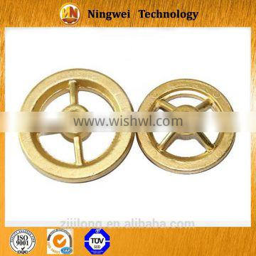 China suppliers perforated bronze metal casting and forging fittings