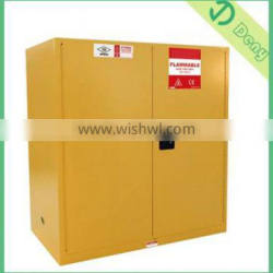 Big Drum Chemical Storage Cabinet Paint Yellow With Powder Coated Surface