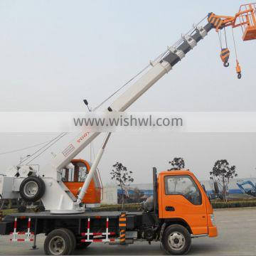 china factory tuck cranes with 5section telescopic boom, 6ton 7ton 8ton 10ton and 12ton truck crane