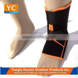 Daily used Neoprene protective adjustable foot sleeve immobilizer ankle