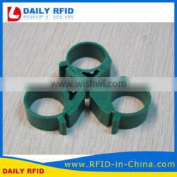 China Factory Price RFID 125KHz Animal Foot Ring for Pigeon Racing Games