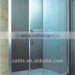 6mm frosted shower door YT9359 tempered