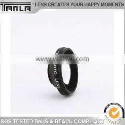 Universal aluminum circle lens for cell phone with 3 in 1 lens
