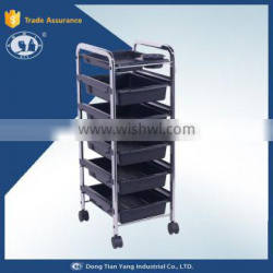 DY-2756 hot sale salon trolley with stainless steel