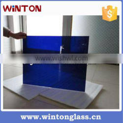 Cobalt glass raw sheet for protective welding glasses