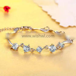 S999 Children′s Sterling Silver Bracelet Pictures Silver Jewelry