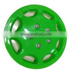 virgin ABS 13inch green replacement car wheel covers