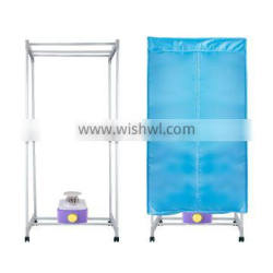 Square Bilayer Electric portable clothes dryer with plastic bracket