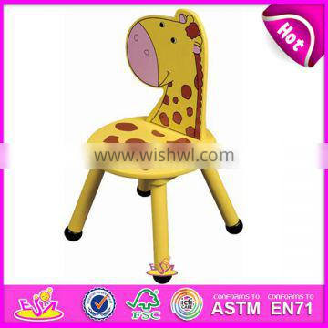Hot new product for 2015 wooden chair for kids,Cheap safe wooden chair for children,High quality wooden chair for baby W08G028