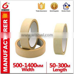 Cheap Crepe paper masking tape for car printing