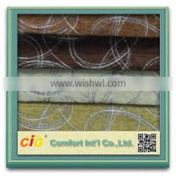 New Design Hot Selling Polyester Acrylic chenille shaggy fabric