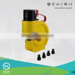 CH-70 Hot Sales Hydraulic Punch Driver for bending Cu/Al/Terminal Crimping Package with Steel Case