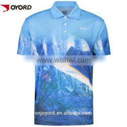 polyester long sleeve quick dry fishing jersey clothes