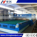 Flat And Curve Fan Convection Tempering Glass Machinery