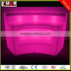 LED Bar Furniture New Stylish LED Bar Counter/Modern Curved Bars For Party
