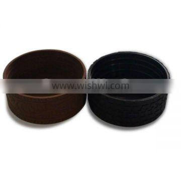 durable silicone cup bottom cover