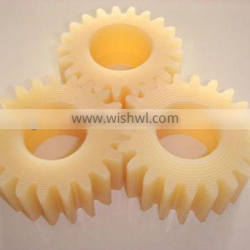 Injection plastic miter gear