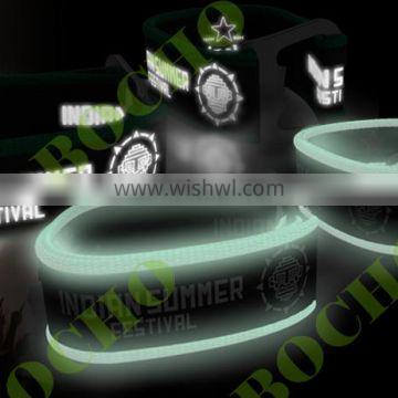 Durable and collectable bracelet with intergrated bottle opener, bracelet with bottle opener-glow in the dark