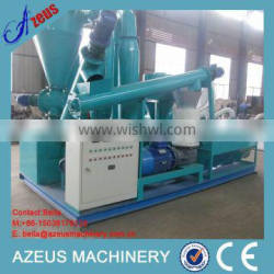 Tractor Mobile Wood Pellet Producing Line