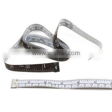 72inch 183cm High Quality Soft Black Customise Measuring Tape
