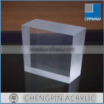 30mm thick cast acrylic glass for fish tank