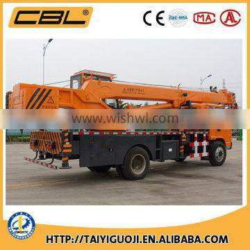 CBL brand small 12 tons truck crane with best quality