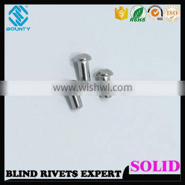 UNIVERSAL HEAD STAINLESS STEEL SOLID RIVETS