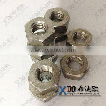 724L/1.4435 725LN/ 1.4466 310S / 1.4845 high strength stainless steel fasteners hex nuts