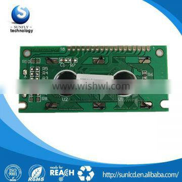 hot selling NOW 122x32 graphic lcd transparent lcd screen with different kinds of backlite