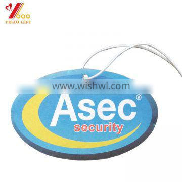 Hot new products custom shape air freshener with cute design