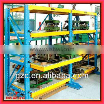 Customized Standard Pull Out Drawer Type Mold Rack Mould Shelving Stable & Safe