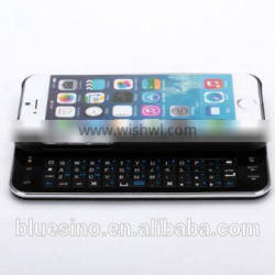 hard back case with slide out wireless bluetooth keyboard for iphone 6