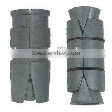 Zinc alloy metal with double expansion anchor export