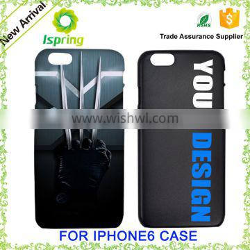 OEM Phone cover, Custom Print own design Plastic TPU Mobile Phone Case for iPhone 5se, for Apple iPhone 6/ 6s Case