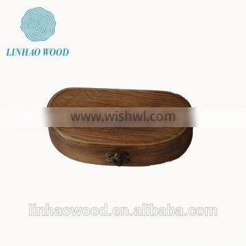high quality wooden glasses package box,promotional delicate wooden glasses storage box