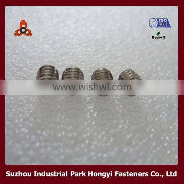 hex socket set decorative screw covers with cup point