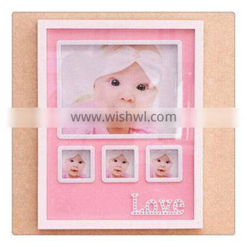 Customized new products colorful soft pvc photo frame