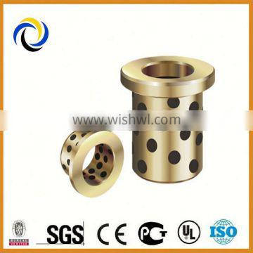 With graphite hole solid sliding bearing