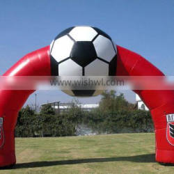 custom PVC Inflatable football shape Arch inflatable archway