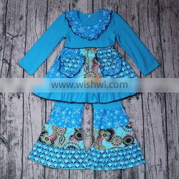 Fall And Winter Girls Boutique Outfits 2017 Cotton Fashion Outfits