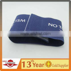 polyester elastic knitted printed armband