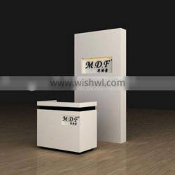 single clothing counter display,counter equipment for charge