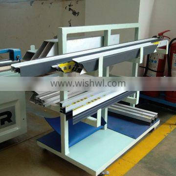 CNC Double heads mitre saw two head machine with cutting aluminum profiles for doors and windows,