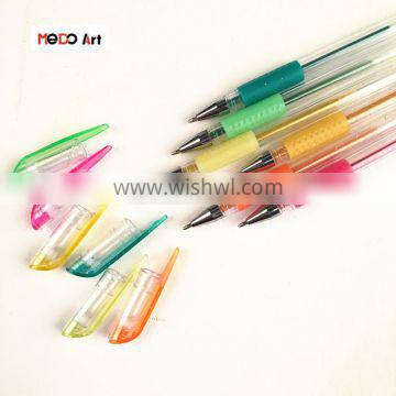 Assorted Colors Finest Promotion Gel Pen Art with Customize Logo