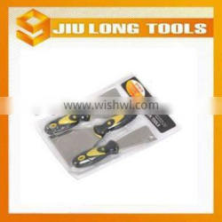 Carbon steel 3PCS putty knife construction hand tool