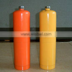 1L non-refillable cylinder for welding with EN12205 standard