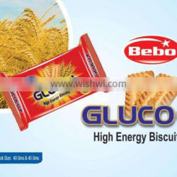 65 Gms Glucose Biscuits from India