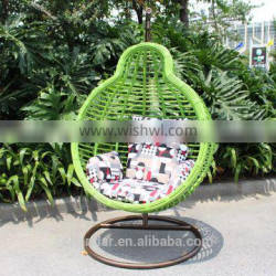 Egg shaped swing chair,Indoor swing chair with stand,Hanging swing chair