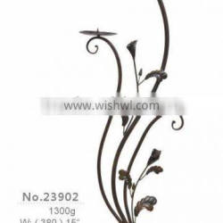 hand forged wrought iron candelabrum